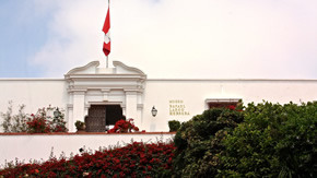 Halbtägige koloniale Lima und Larco Museumstour
