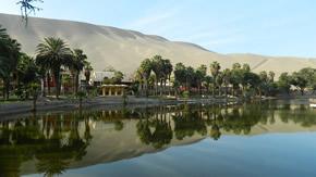 Ica entspannt ab Lima